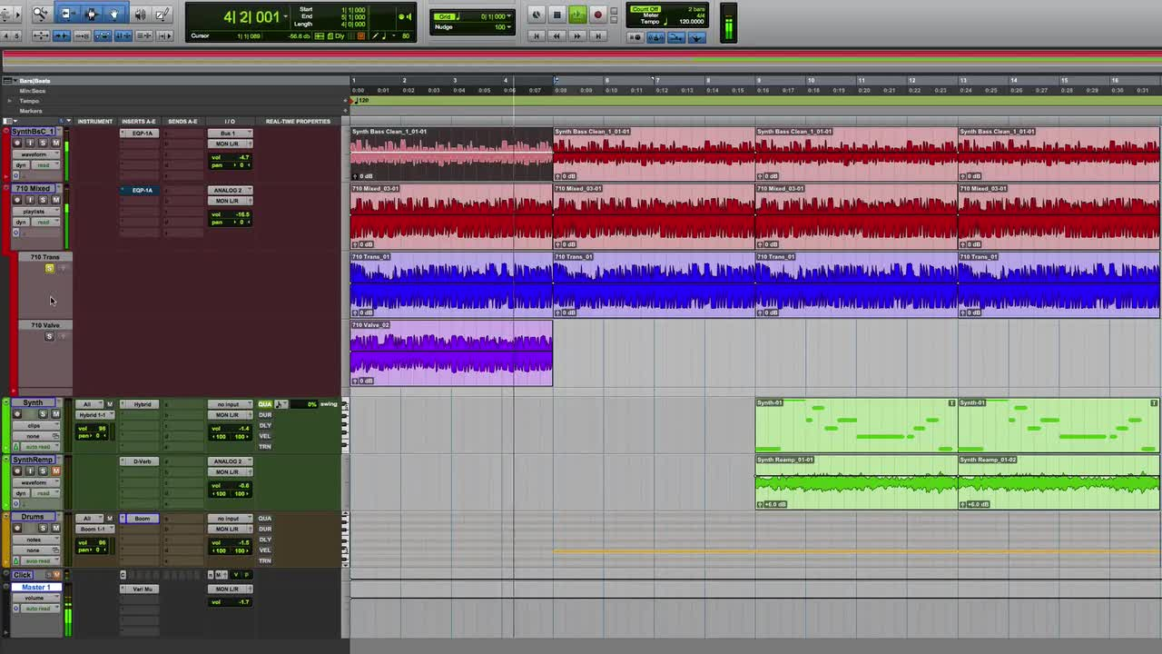 Re-amp Virtual Instruments And Soft Synths In Pro Tools To Add Character