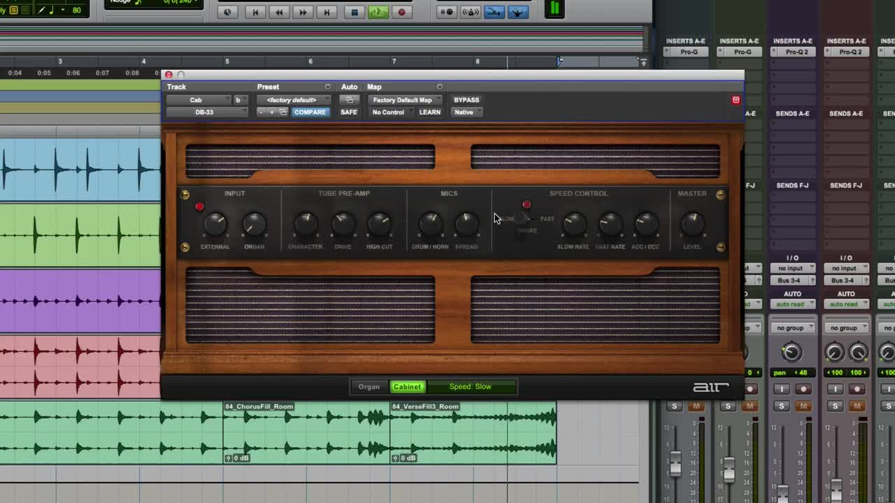 AIR DB33 On Electric Piano In Pro Tools