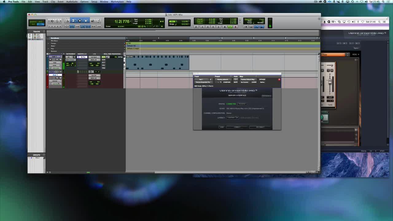 Using Vienna Ensemble Pro 5 On Two Macs Using Ethernet Russ Hughes