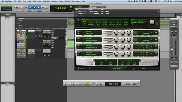 Create Amazing Grooves Using Xpand2