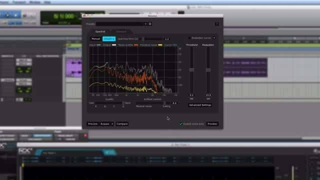 Cleaning Up A Guitar In Pro Tools Using iZotope RX4