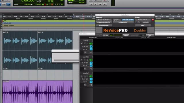 Create Doubled Guitars Fast In Pro Tools Using Revoice Pro