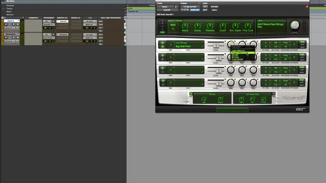 Audition VI Sounds With MIDI Patch Change In Pro Tools - Max OS X