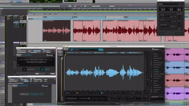 Using iZotope RX4 To Automate Clip Gain