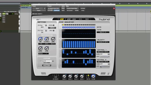 Create Moving Sounds In Hybrid