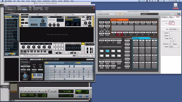 Mapping Maschine To Transfuser