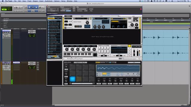 Drumkit From Pro Tools Timeline In Transfuser