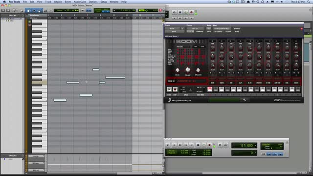 Record To The Timeline With MIDI In Boom