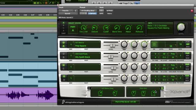 Create Eighties Synth Pop