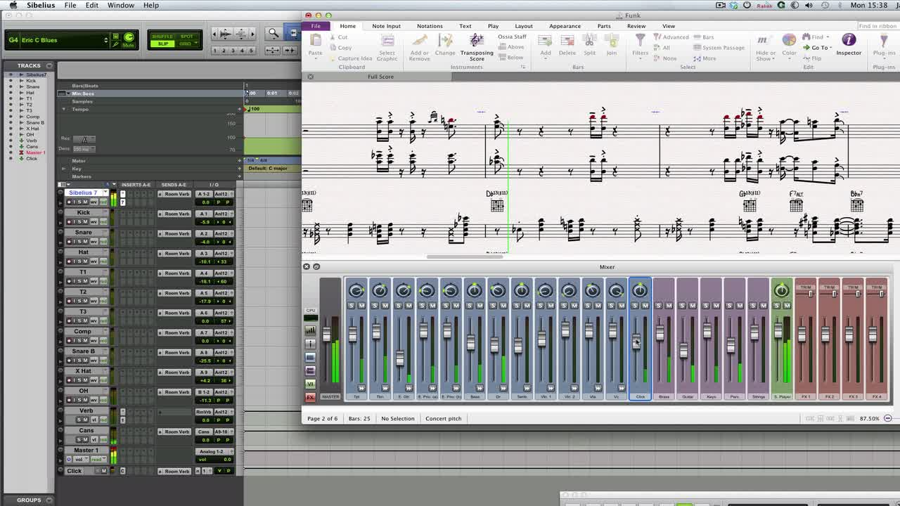 Pro Tools   How To ReWire Pro Tools And Sibelius