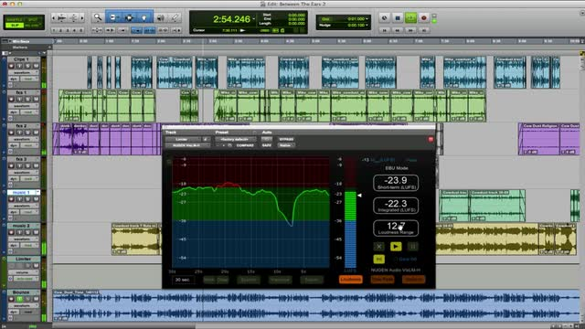 Tips On Using Loudness Metering In Audio Post In Pro Tools with Nugen Audio