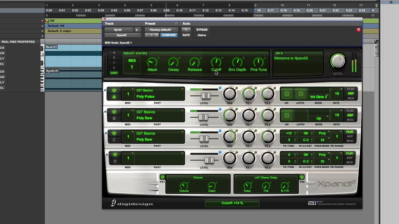 Turn Xpand 2 Into A Killer Synth   Pro Tools