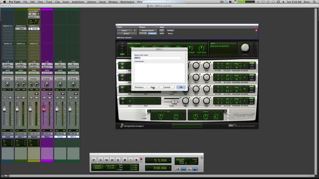 MIDI In and Out Routing Trouble Shooting In Pro Tools