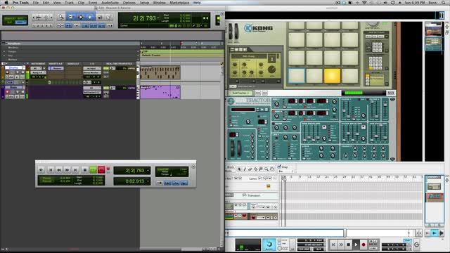 Using Reason In Pro Tools With ReWire