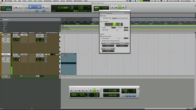 Split MIDI Events In Pro Tools
