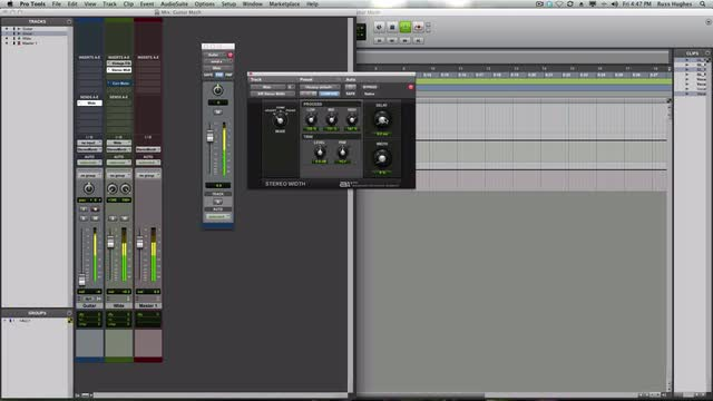Get Bigger Electric Guitars In Pro Tools
