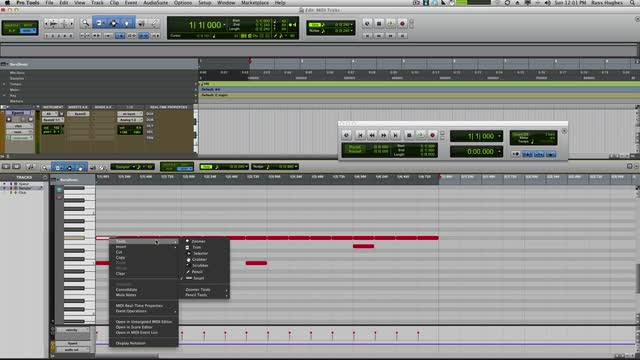 Mastering MIDI Edits In Pro Tools Part 2