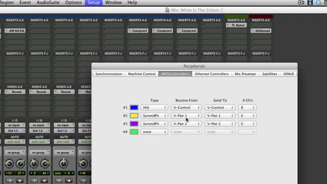 Using V Control Pro For iPad With Pro Tools