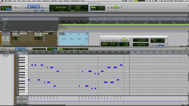 Mastering MIDI Edits In Pro Tools Part 3