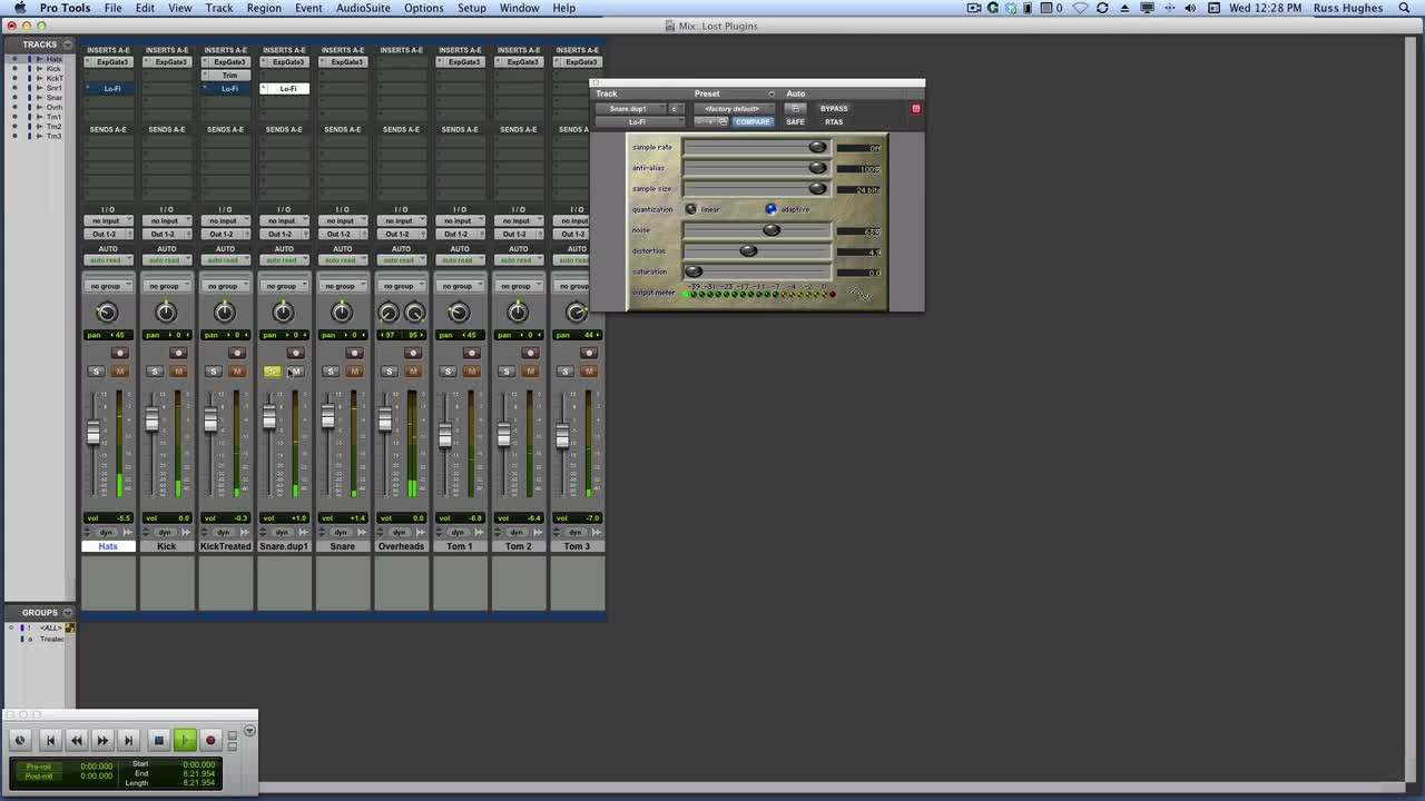 Discovering The Lost Plug-ins In Pro Tools Avid Lo-fi