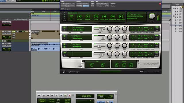 Create Monster Bass In Pro Tools With Xpand2