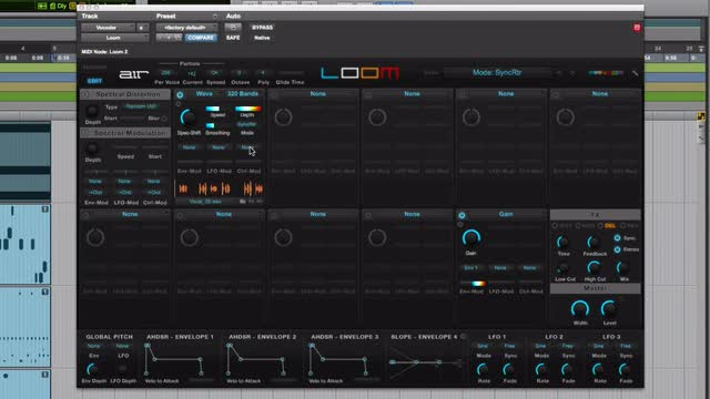 Use AIR Loom Synth As A Vocoder