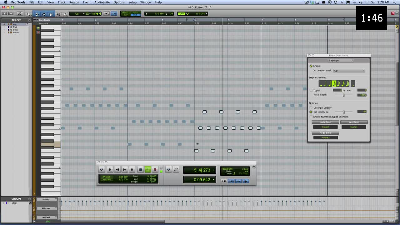 Create A Custom Synth Arpeggiator In Pro Tools In Less Than 3 Minutes