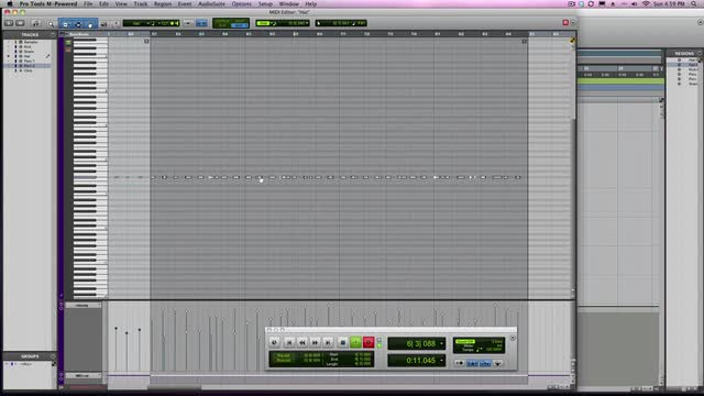 Build MIDI Drum Tracks In Pro Tools