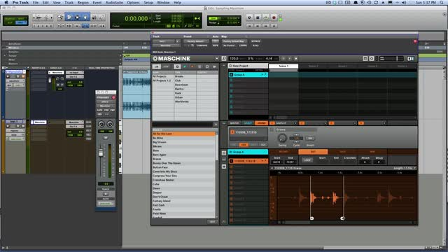 Create A Drumkit From The Pro Tools Timeline In Maschine
