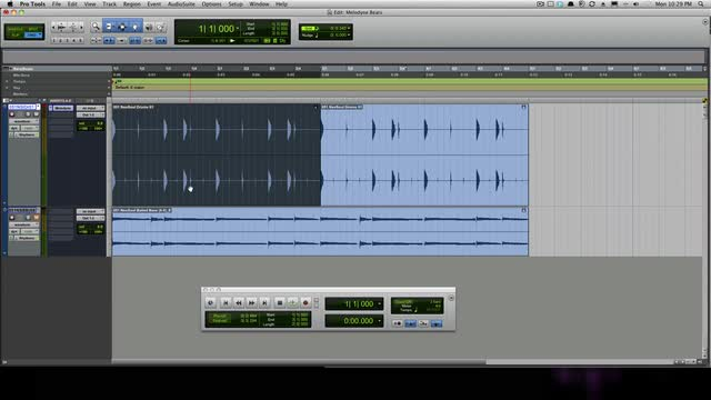 Melodyne Beat Mashing In Pro Tools
