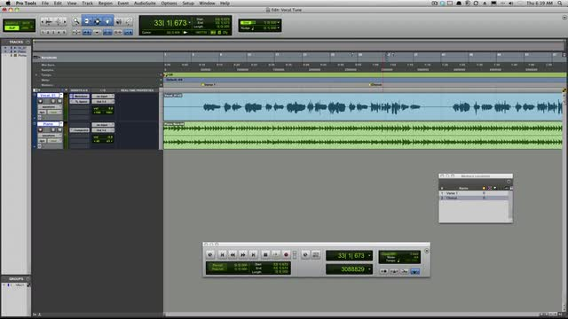 Melodyne Vocal Tricks In Pro Tools