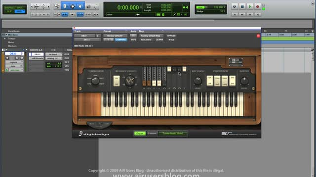 Using Air DB33 Organ - Part 2