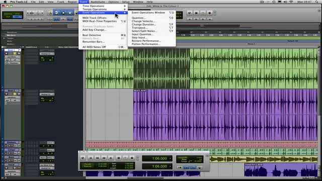 Locking Grooves Together In Pro Tools