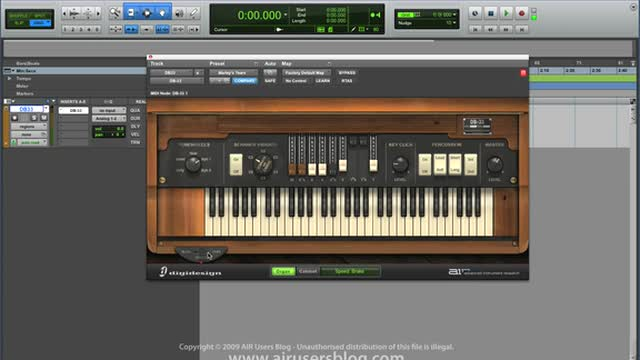 Using Air DB33 Organ - Part 1