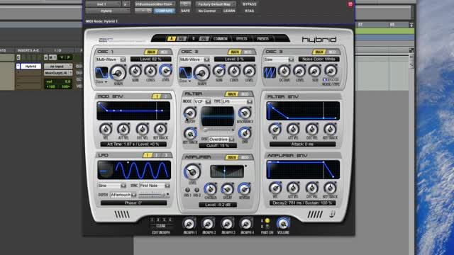 Pro Tools Instrument Expansion Pack - Hybrid 1.5