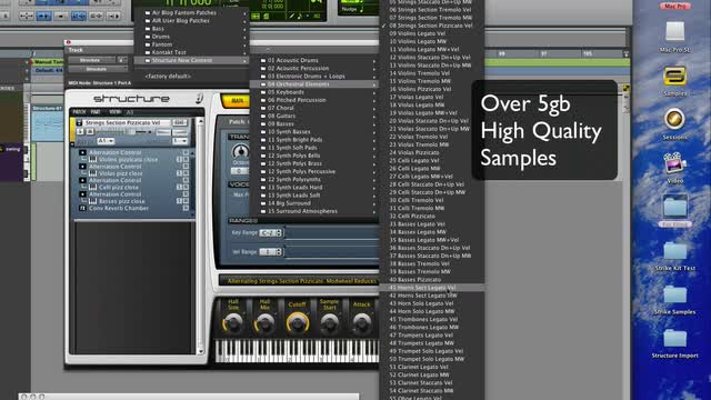 Pro Tools Instrument Expansion Pack - Structure 1.1