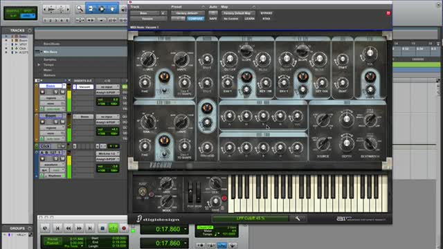 Bass Synth Programming With Vacuum