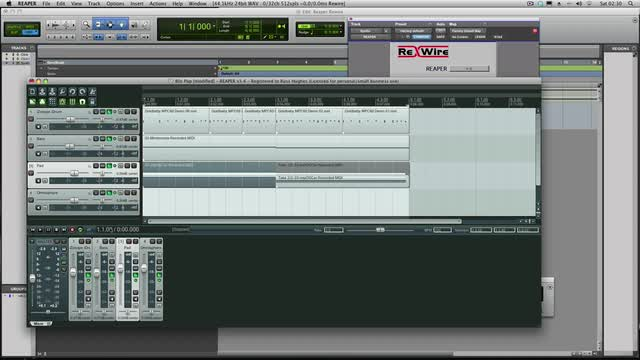 How To Rewire Reaper Into Pro Tools