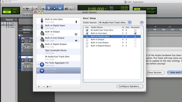 Setting Up An Aggregate Device On A Mac