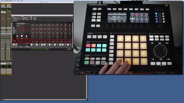 Set Up Maschine Studio Hardware With Pro_Tools