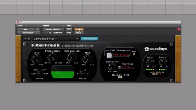Use SoundToys Filter Freak To Give Your Sounds Some Real Grunt