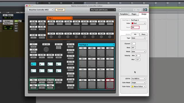 Control Pro Tools Using Maschine 1.8