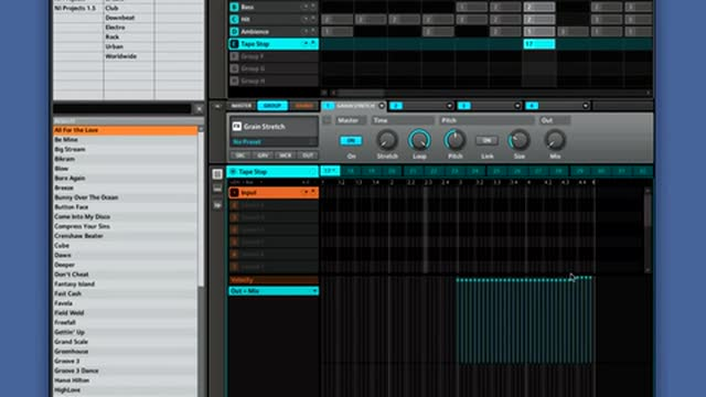 Create Tape Stop Stutter Effects In Maschine