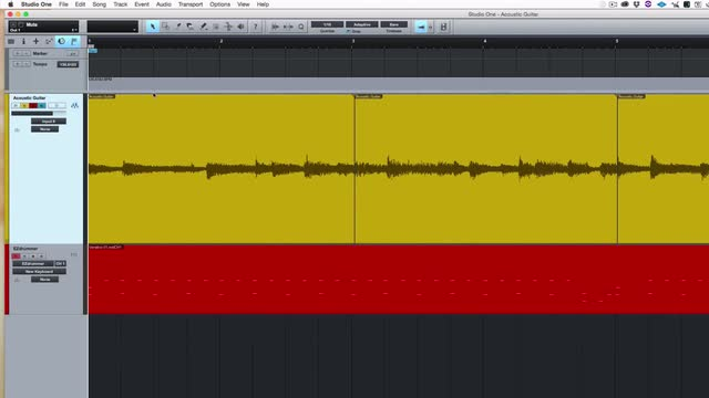 How To Tempo Map A Live Performance Fast In Studio One