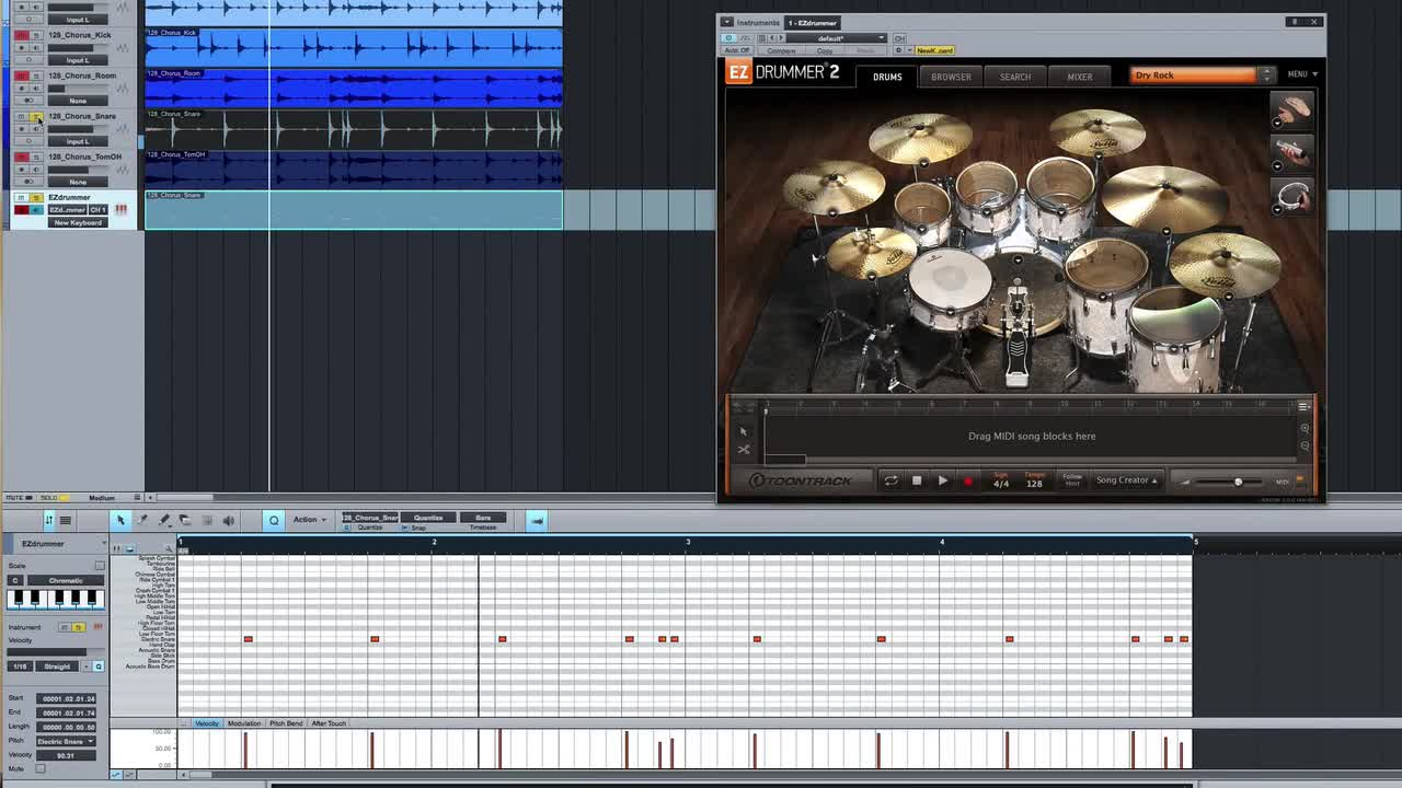 Tutorial how to convert drum audio to midi triggers in presonus tutorial how to convert drum audio to midi triggers in presonus studio one baditri Gallery