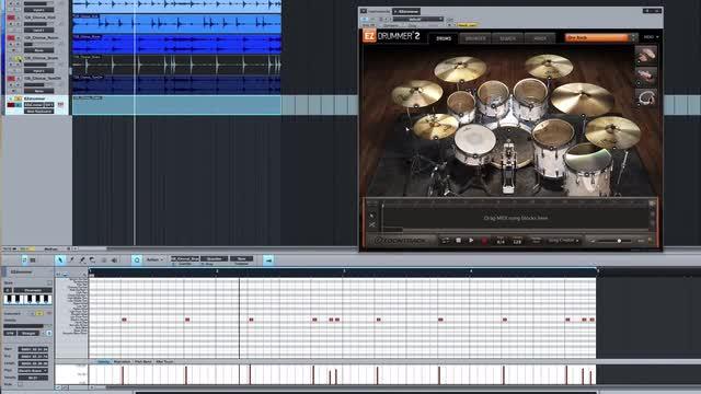 Convert Audio Drums To MIDI Triggers In PreSonus Studio One