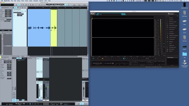 A Workflow For Using iZotope RX 4 Standalone With PreSonus Studio One