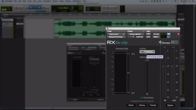 iZotope RX Plugin Pack - Fixing Distortion Part 1