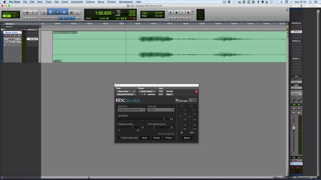 iZotope RX Plugin Pack – Fixing Distortion Part 2