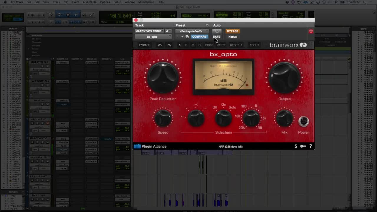 Video - How To Use The Brainworx bx_opto compressor From Plugin